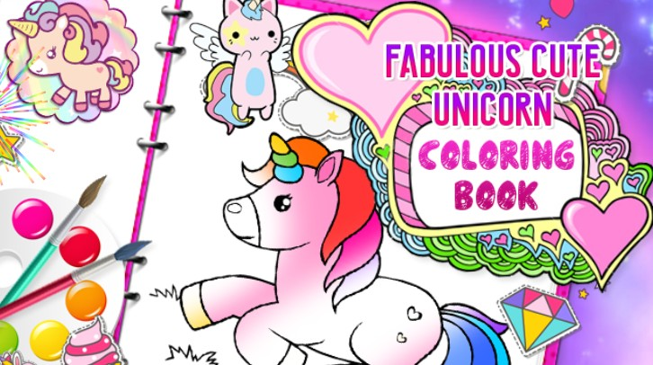 Image Fabulous Cute Unicorn