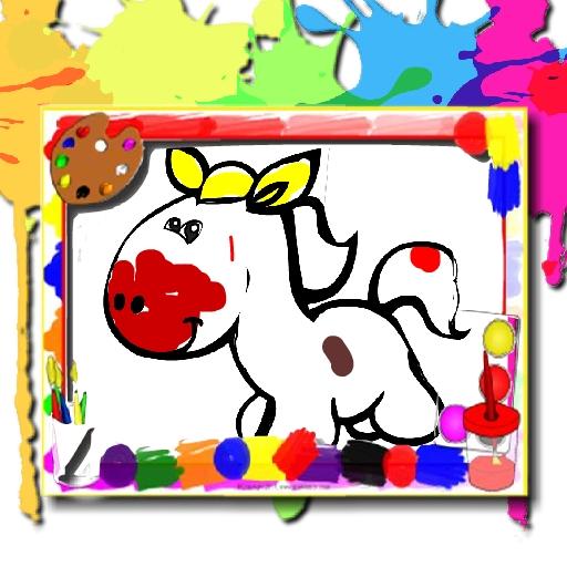 Image Pferde Malbuch
