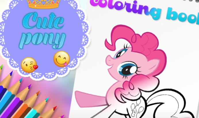 Image Pony Ausmalbilder